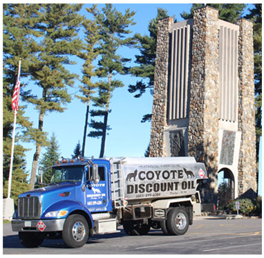 Coyote Discount Oil delivery