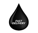 oil drop icon - fast delivery